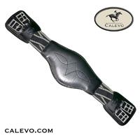 Prestige - Leder Dressurgurt mit gekreuztem Elastik CALEVO.com Shop