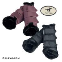 Eskadron - Soft Gamaschen FAUX FUR - PLATINUM CALEVO.com Shop