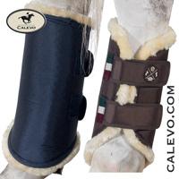 Eskadron - Soft Tendon Boots REAR - HERITAGE COLLECTION CALEVO.com Shop