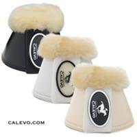 Calevo - Kunstleder Springglocken mit Lammfell CALEVO.com Shop