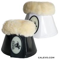 Calevo - LACK Kunstleder Springglocken mit Lammfell CALEVO.com Shop