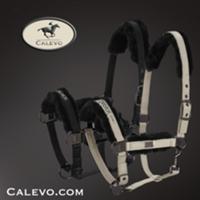 Eskadron - Halfter GLOSSY FAUX FUR - PLATINUM CALEVO.com Shop