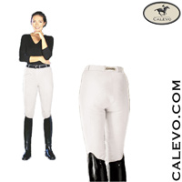 Cavallo - ladies cotton breeches with knee patches Derby CALEVO.com Shop