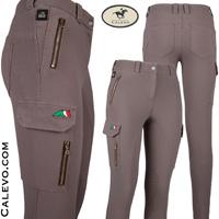 Equiline - Damen Knee Grip Cargo Reithose CHARLIZE CALEVO.com Shop