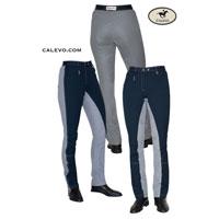 Cavallo - Kontrast Jodpur Reithose mit Ges�ssbesatz CARLA CALEVO.com Shop