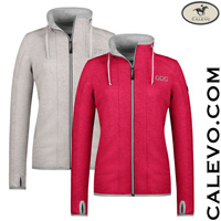 Cavallo - ladies sweat jacket IOWA CALEVO.com Shop