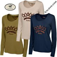 Pikeur - Damen Langarm Shirt NAOMI - PREMIUM COLLECTION CALEVO.com Shop