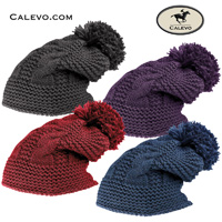 Cavallo - knitted hat with pompom DARCY CALEVO.com Shop