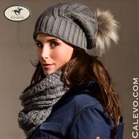 Cavallo - cable pattern loop scarf FIORINA CALEVO.com Shop