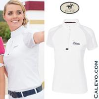 Pikeur - Damen Turniershirt mit 1/2 Arm und Mesh-Einsatz CALEVO.com Shop