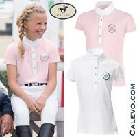 Pikeur - Kinder Turniershirt mit Pailletten Labelling CALEVO.com Shop