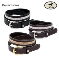 Schumacher - leather belt Crystal Mesh CALEVO.com Shop