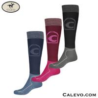 Cavallo - knee length socks LUREX CALEVO.com Shop