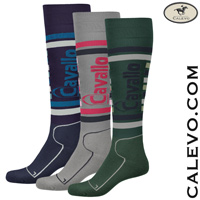 Cavallo - knee length socks STRIPES - SUMMER 2017 CALEVO.com Shop