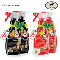 Leovet - Power SET Striegel + Schaum Shampoo Care & Color CALEVO.com Shop