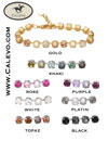 Schumacher - bracelet crystal-pearl CALEVO.com Shop