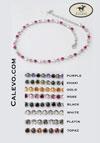 Schumacher - necklet crystal-pearl CALEVO.com Shop