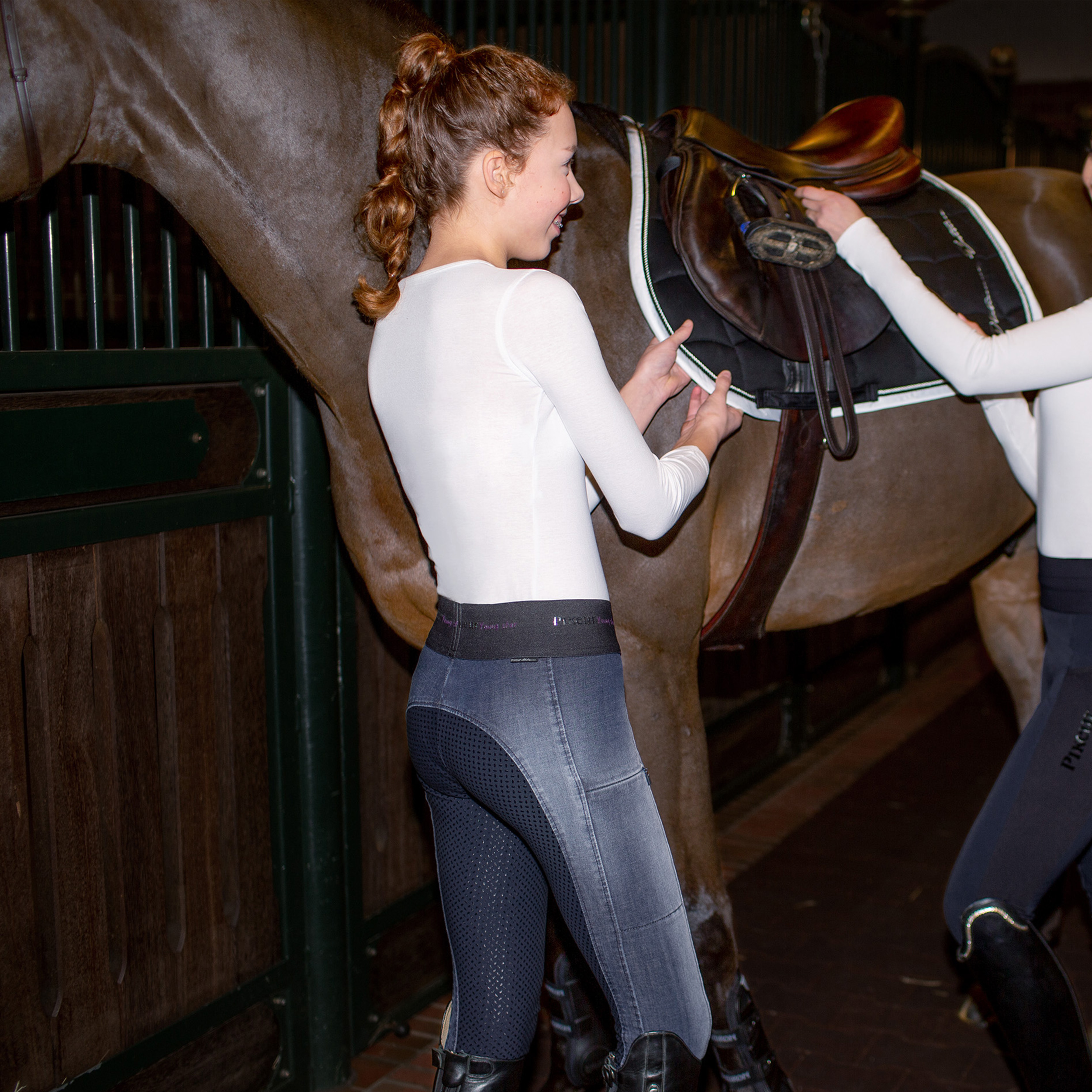 Pikeur-  ldren Jeans Iona Grip Athleisure-Young Stars  offering 100%