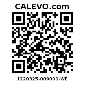 Calevo.com Preisschild 1220325-009000-WE