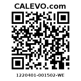 Calevo.com Preisschild 1220401-001502-WE