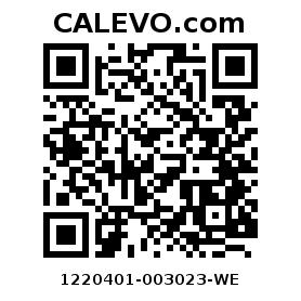Calevo.com Preisschild 1220401-003023-WE