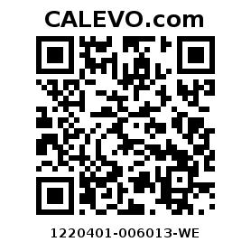 Calevo.com Preisschild 1220401-006013-WE
